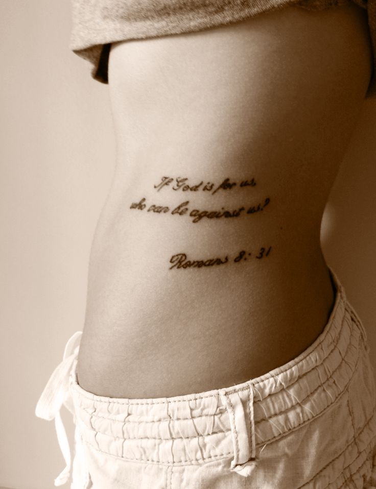 romans 8 31 tattoo ink pinterest
