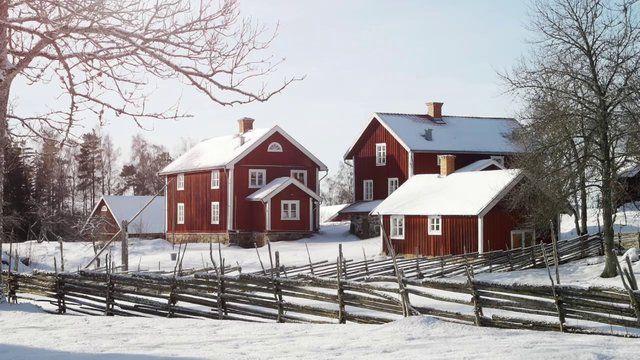 Svenska hus som de brukade se ut