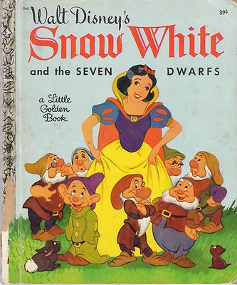 Walt Disney's Snow White and The Seven Dwarfs Vintage Little Golden Book
