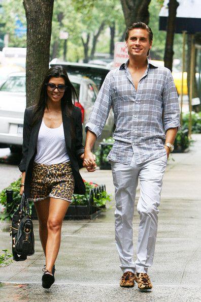 Kourtney Kardashian Photo - Kourtney Kardashian and Scott Disick in NYC