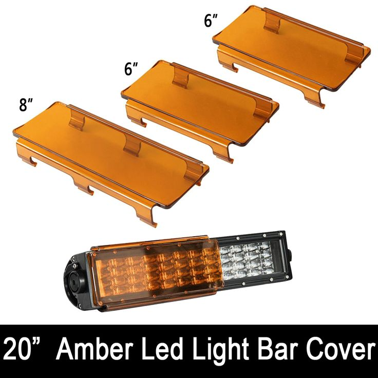 check discount 20 inch snap on lens covers 2x 6 1x8 black red green clear blue amber for 120w 22 led #green #amber