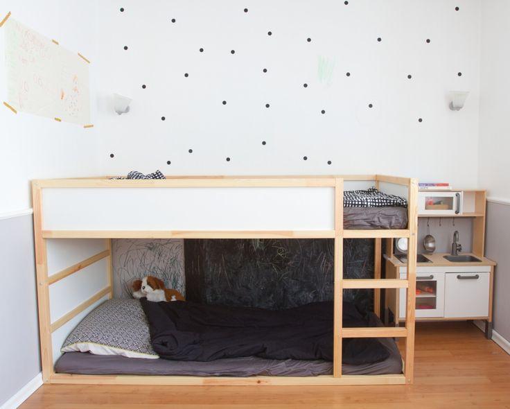 Wnętrza Zewnętrza - blog wnętrzarski: Kolejne dziecięce marzenie spełnione! Łóżko KURA