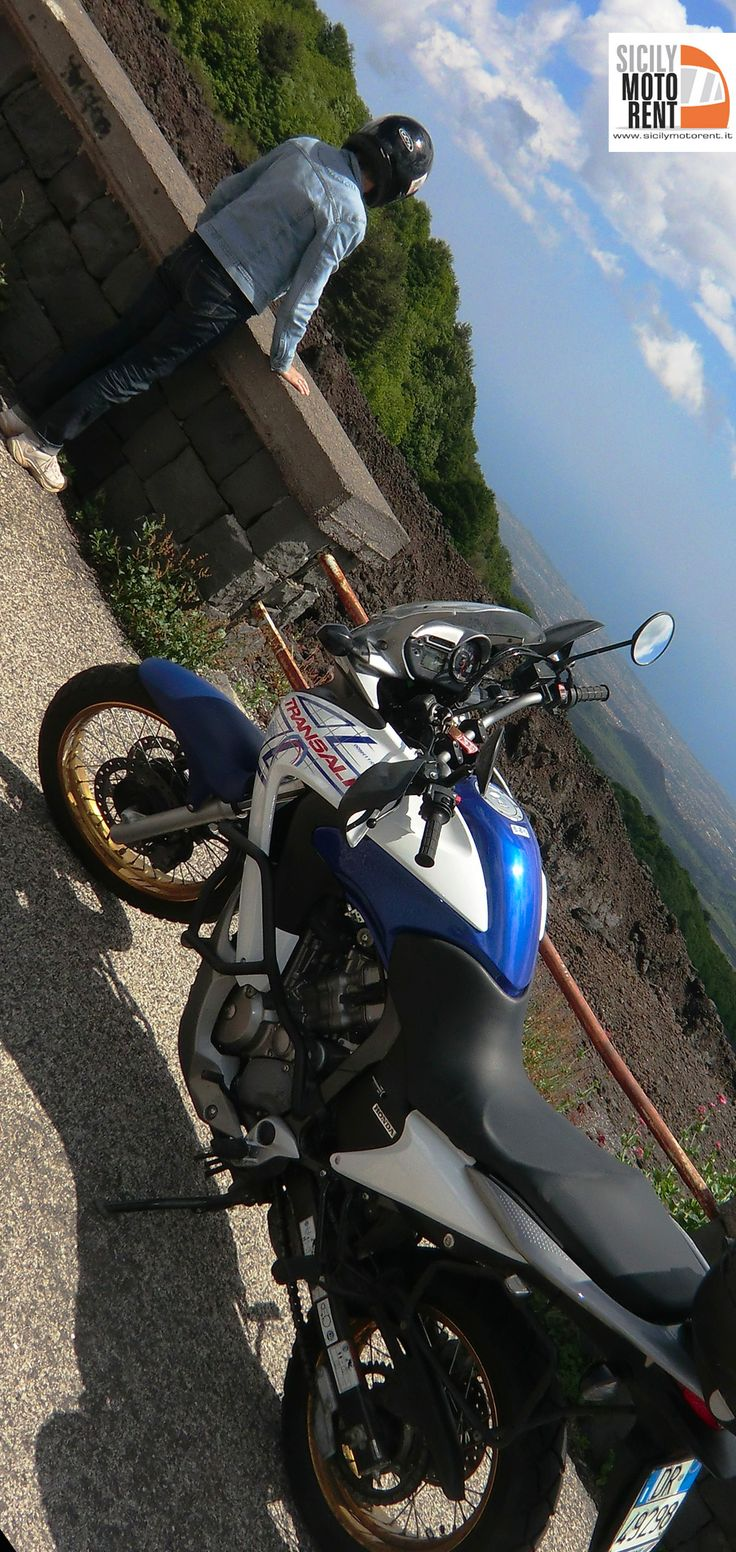 motorcycle hire Sicily