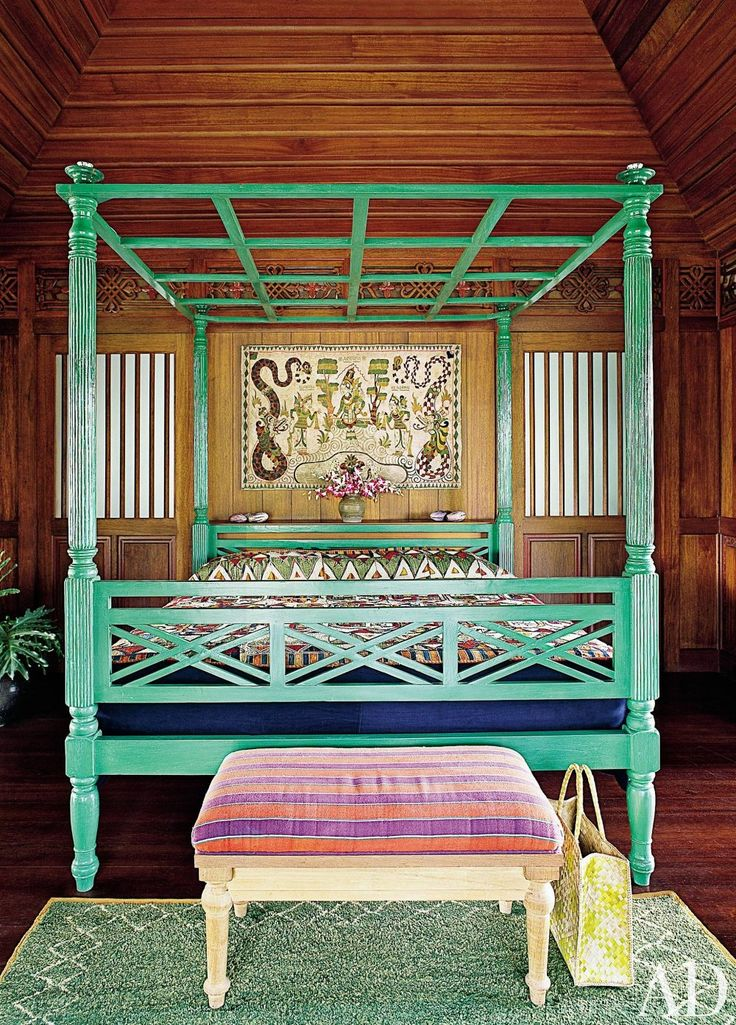 Exotic Bedroom by Made Wijaya and Made Wijaya in Ubud, Bali
