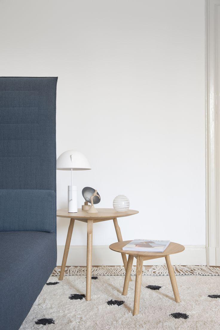 kayak wooden small tables / 2 sizes  Design by Patrick Norguet  #aliasmood #aliasathome #aliasatwork