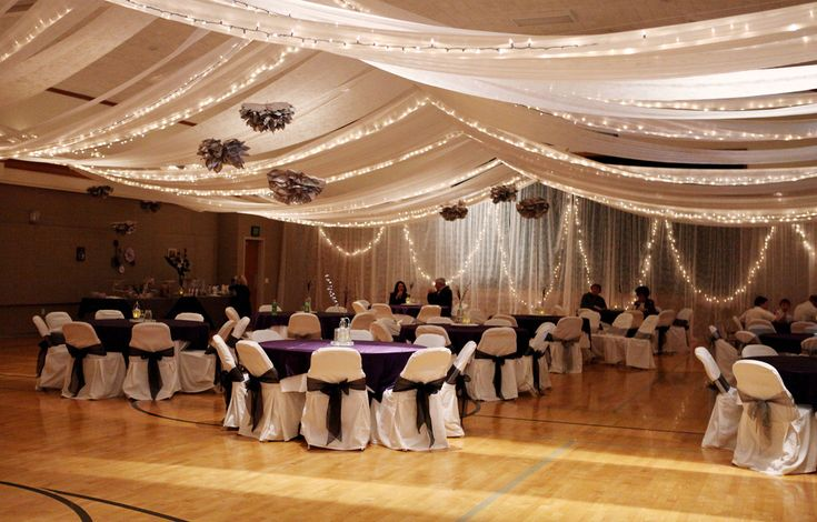 church --> reception hall...this looks something we can put together on our own :)