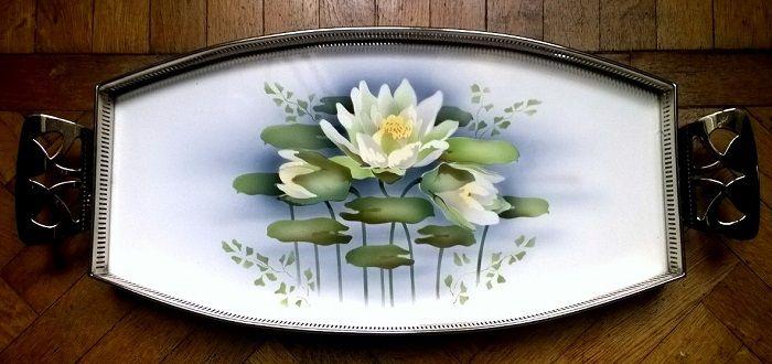 #Ceramic platters decorated with #ArtNouveau and Deco Collection #Martini, Florence (#vassoio in #ceramica con decorazioni #Liberty e Déco della Collezione #Martini, #Firenze)