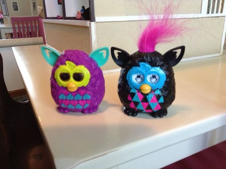 Lot Of 2 McDonald's Furby Boom Toys! Boy and girl #McDonalds JUST REDUCED TO $3.00