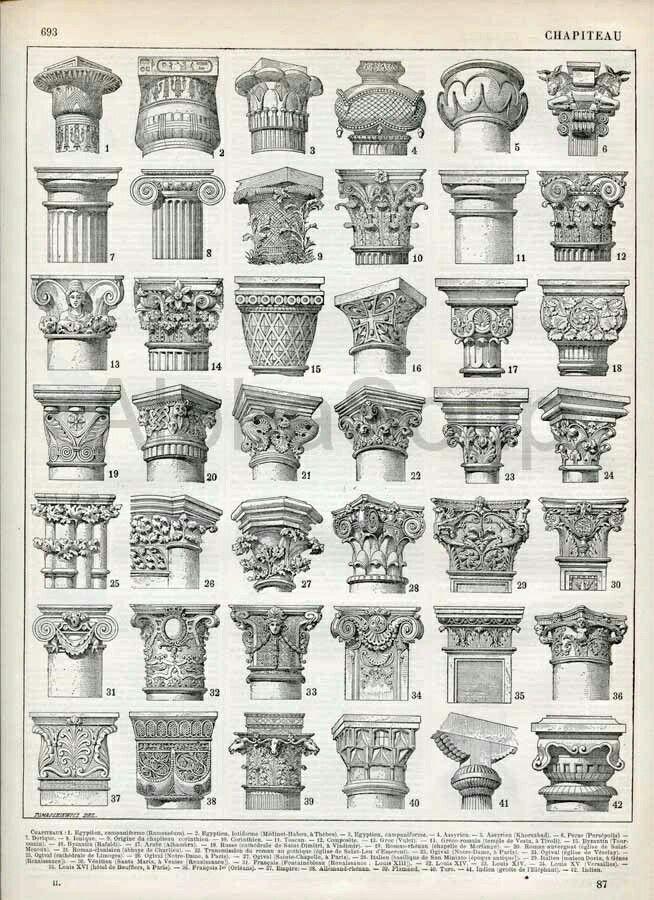 pillar caps