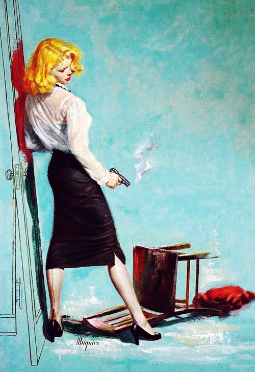The Damned Lovely by Jack Webb. Cover art by Robert Maguire. 1955