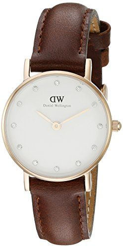 Daniel Wellington Women's 0900DW St. Mawes Stainless Steel Watch with Brown Strap Daniel Wellington http://www.amazon.com/dp/B00D195O3K/ref=cm_sw_r_pi_dp_JLE2wb18RPAGF