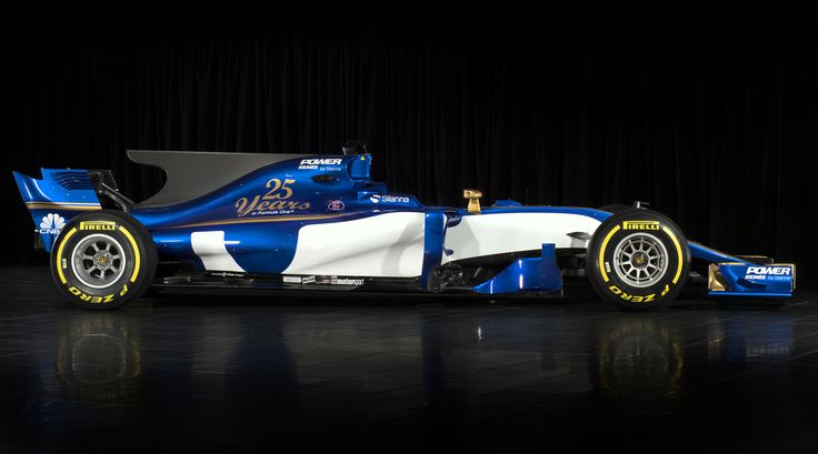 The 2017 Sauber F1 car https://racingnews.co/2017/02/20/2017-sauber-f1-car-released-sauber-c36-ferrari-photos/ #f1