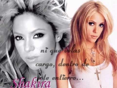 Shakira- Te Necesito (Letra)