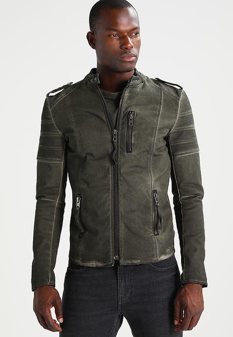 "TIGHA* ""Todd"" Leather Jacket"