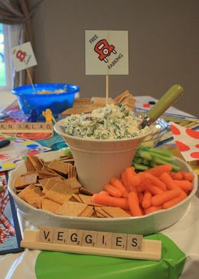 Board Games Themed Couples Shower - Wedding Shower