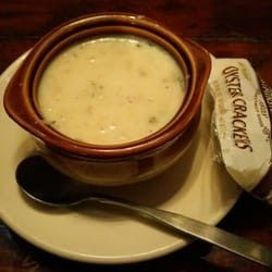 NEW ENGLAND CLAM CHOWDER  Morton's the Steakhouse Recipe   Serves 6   4 (6 1/2 oz.) cans chopped clams  12 (8 oz.) bottles clam juice  4...