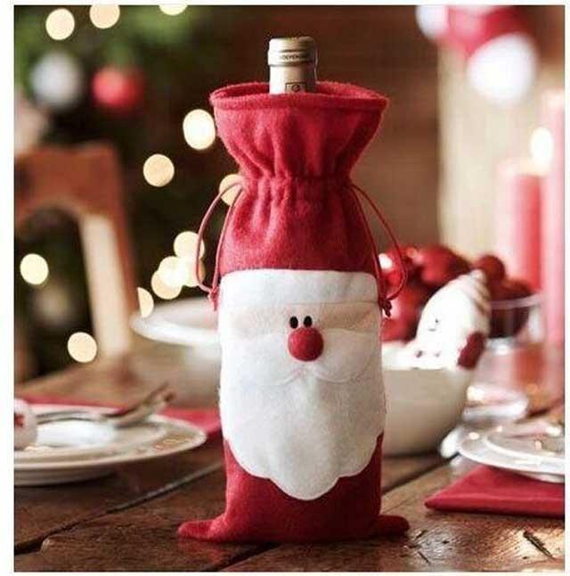 Santa Claus wine bottle bag for $2.28