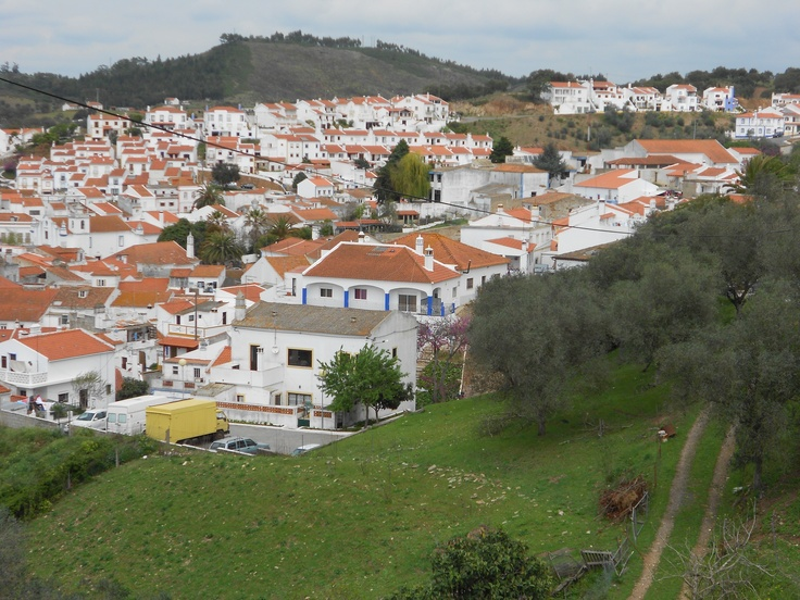 A view of Odemira, Portugal.