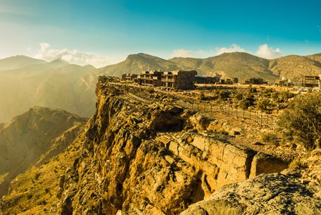 """Jebel Akhdar in Arabic means """"Green Mountains"""" and this region of the most verdant outside of Salalah and the Batinah Coast. To go there requires a 4-wheel drive and a road permit because of military installations in the area."""