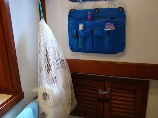 #DIY #Storage And #Stowage On A Liveaboard Boat. Great ideas here! Click through to read more.