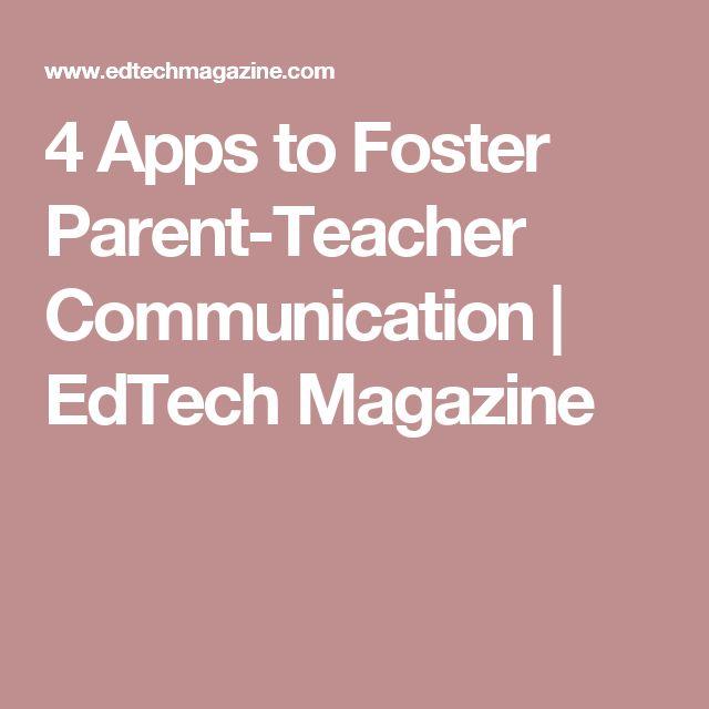 4 Apps to Foster Parent-Teacher Communication | EdTech Magazine