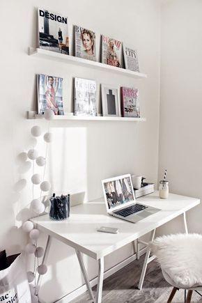 10 IDEAS PARA DECORAR LA OFICINA EN TU CASA Hola Chicas!! Necesitamos decorar la oficina en casa y no sabemos que poner o no y cuanto dinero nos vamos a gastar, depende de lo que quieras puedes comprar escritorios profesionales, mesa, caballetes y poner una madera encima, sillas de escritorio que hay infinidad de precios y estilos, aqui te dejo una galeria de fotos con diferentes estilos de decoracion de acuerdo a tu bolsillo, todos son hermosos, nada mas escoge el que mas te gusto y…
