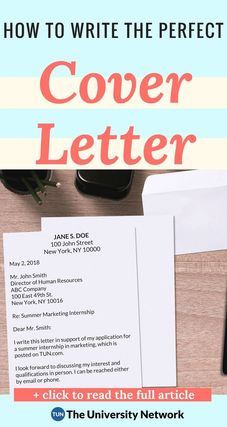 The Complete Cover Letter Guide For College Students | Job
