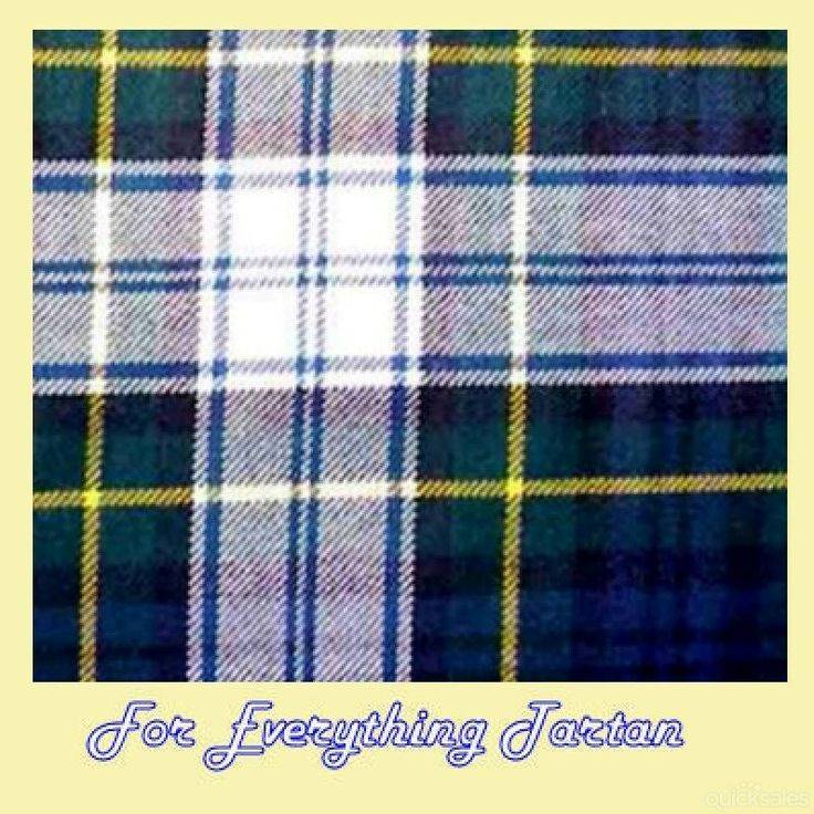 Gordon Dress Modern Tartan Polywool Plaid Fabric Double Width by JMB7339 - $80.00