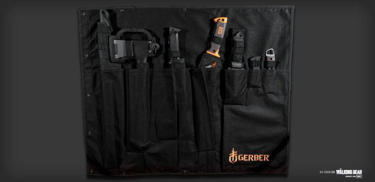 The Gerber Apocalypse Kit, as seen on The Walking Dead: Gerber Apocalypse, Stuff, Survival Kits, Zombies Survival, Zombie Apocalypse Survival, Apocalypse Kits, Apocalyp Survival, Zombies Apocalypse Survival, Gears