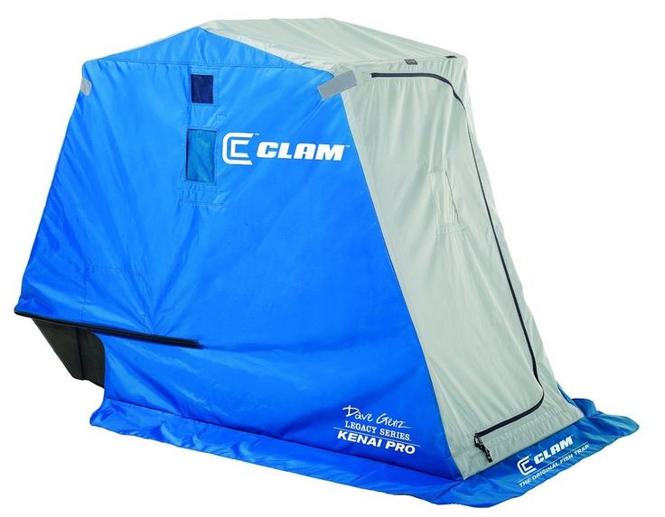 Clam Ice Fishing Tent Outdoor Fish Trap Shelters Nanook New Shelter Best Shanty in Sporting Goods, Fishing, Fishing Equipment | eBay
