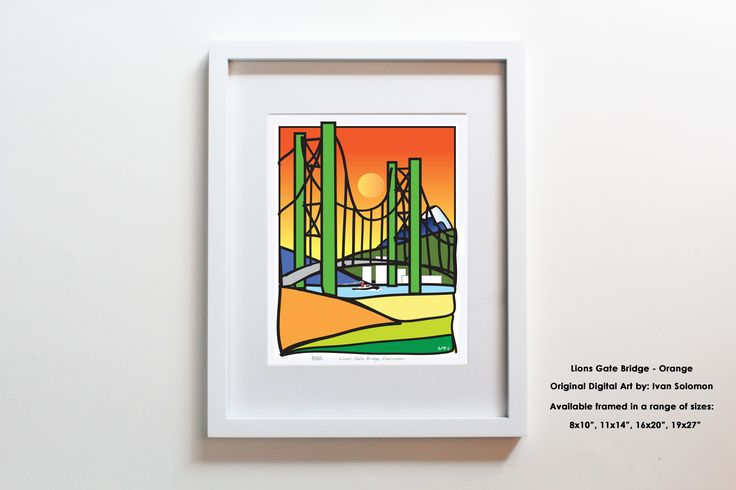 The Lions Gate Bridge is truly a legendary landmark in Vancouver, BC. Stretching high across the Burrard Inlet and connection downtown Vancouver to the North Shore.