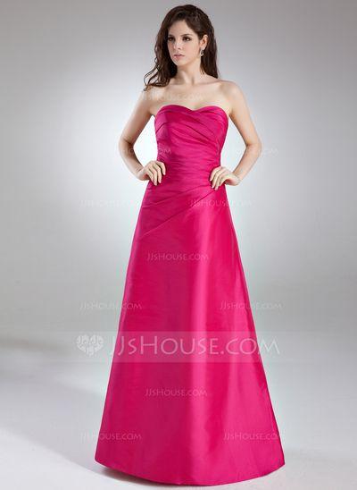 Bridesmaid Dresses 109 99 A Line Princess Sweetheart Floor Length Taffeta