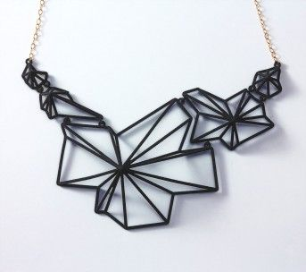 ANDROMEDA NECKLACE, BLACK | Summerized    This necklace is awesome. Wish I could justify spending the money on it! Lol