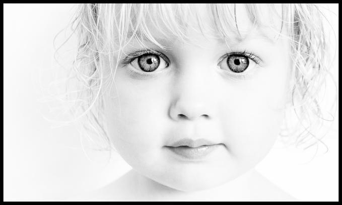 Eyes of Innocence: Photo by Photographer Kilian Hall - photo.net