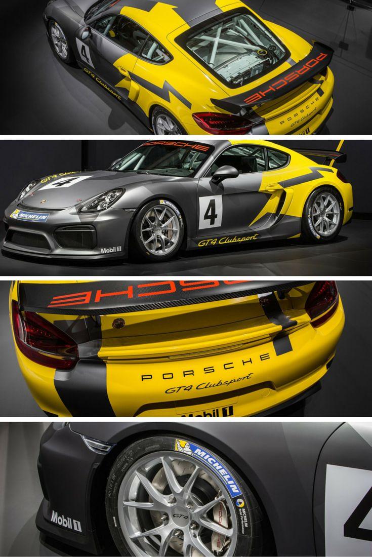 Porsche Cayman GT4 http://www.carhoots.com/latest-release/caged-fighter-porsche-cayman-gt4-clubsport-revealed-at-la-2015/
