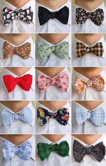 boys with bow ties.... #nuffsaid Love my men in button downs and bowties lol