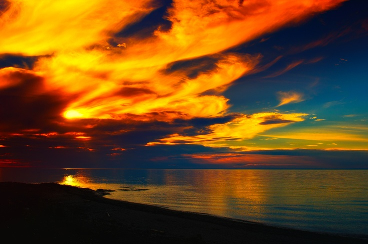 Sunrise in Matane