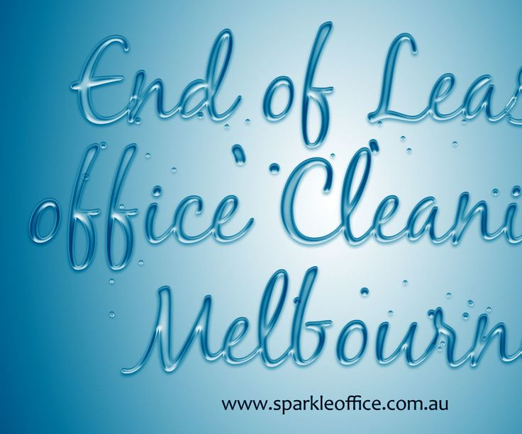 Best End of Lease Office Cleaning Melbourne