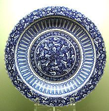 Iznik large dish ca. 1480