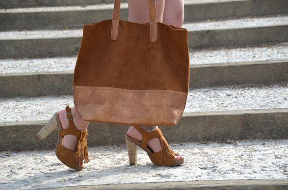 """""""Fringe on my feet"""" on Sandra Style Bag & Shoes: @MARYPAZ Shoes   http://sandrafashiondiary.es"""