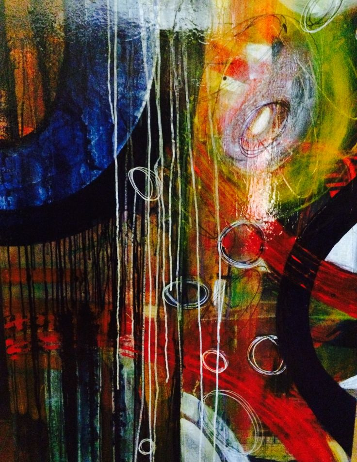 Blue moon by Starr Perry for Abstract