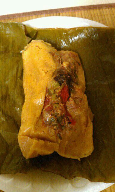 Tamal De Pollo Panama Popular Dishes Panama Recipe