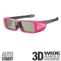 Sony TDG-BR50/P Youth Size 3D Active Glasses, Pink by Sony. $55.99. Amazon.com Product Description                 Enjoy an incredible, high-quality 3D entertainment experience when you combine this pair of youth-sized 3D Active Glasses in pink with a compatible BRAVIA 3D HDTV and the separately available 3D Sync Transmitter.  3D Active Glasses--side view (above) and front view (below).   Sony's innovative design blocks out distracting room light and the adjustable frames ...