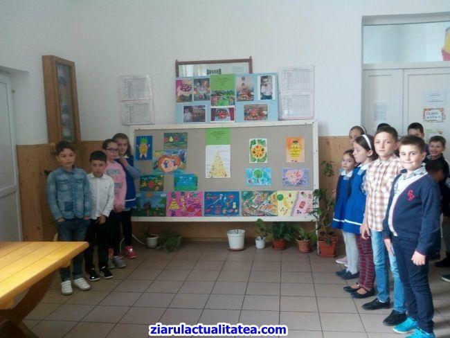 """Concurs de educație ecologică și protecția mediului, la Școala Gimnazială """"Carol I"""""""