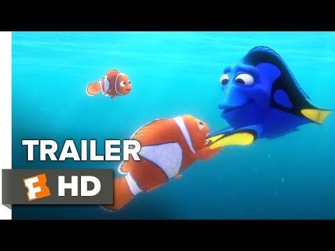 Finding Dory Official Trailer #1 (2016) - Ellen DeGeneres, Michael Sheen Animated Movie HD - YouTube
