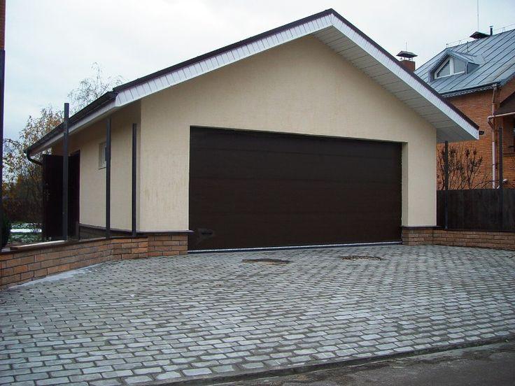 Строительство гаража на две машины. Осташково.