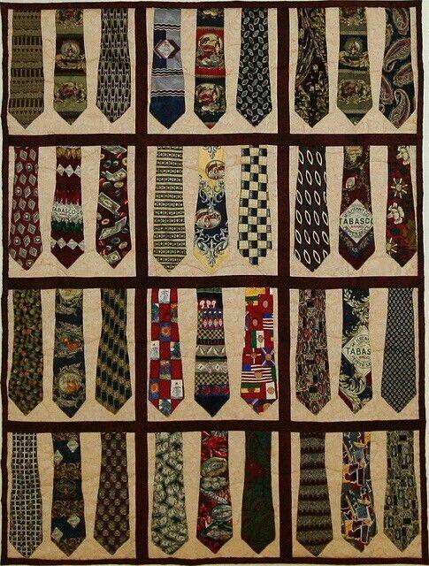 Men's Tie Quilt Patterns - Bing Images