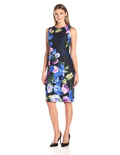 eb39c359 Beautiful Eliza J Women's Sleeveless Scuba Sheath online. [$111.08]  offerdressforyou from top store