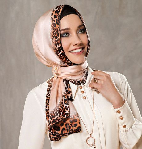 Armine Silk Hijab 2086 - Fall 2013 Winter 2014 - Ships from USA | Modefa USA - 10% off when you share on Facebook or Twitter! See site for details www.mymodefa.com