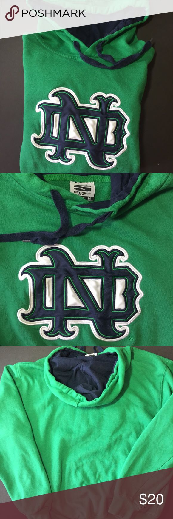 "Notre Dame Sweatshirt Don't ""fight on for ole' Notre Dame!"" Just buy the darn sweatshirt. You know you want it. Near perfect, I can't find any flaws. Stadium Athletics Shirts Sweatshirts & Hoodies"